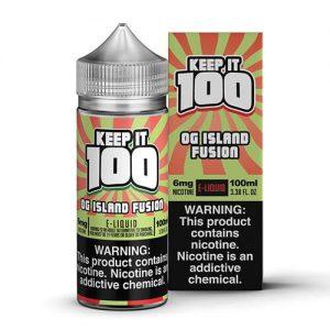 Keep It 100 E-Juice - OG Island Fusion (KiBerry Killa) - 100ml / 6mg