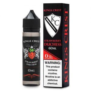 Kings Crest Reserve Premium E-Liquid - Strawberry Duchess Reserve - 60ml / 0mg