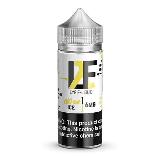LYF E-Liquid - Citrus Ice - 100ml / 6mg