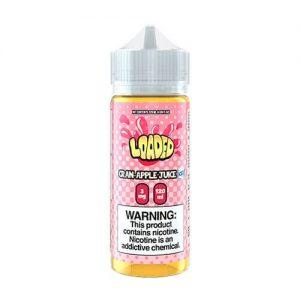 Loaded E-Liquid - Cran-Apple Iced - 120ml / 0mg