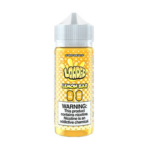 Loaded E-Liquid - Lemon Bar - 120ml / 3mg