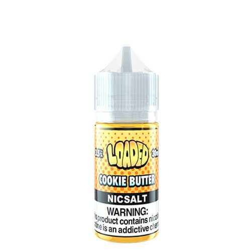 Loaded E-Liquid SALTS - Cookie Butter - 30ml / 50mg