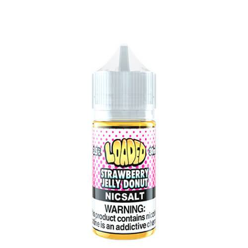 Loaded E-Liquid SALTS - Strawberry Jelly Donut - 30ml / 50mg