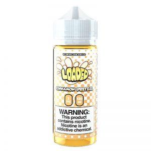 Loaded E-Liquid - Cinnamon Pretzel - 120ml / 0mg