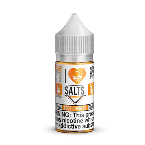 I Love Salts by Mad Hatter - Tropic Mango - 30ml / 50mg
