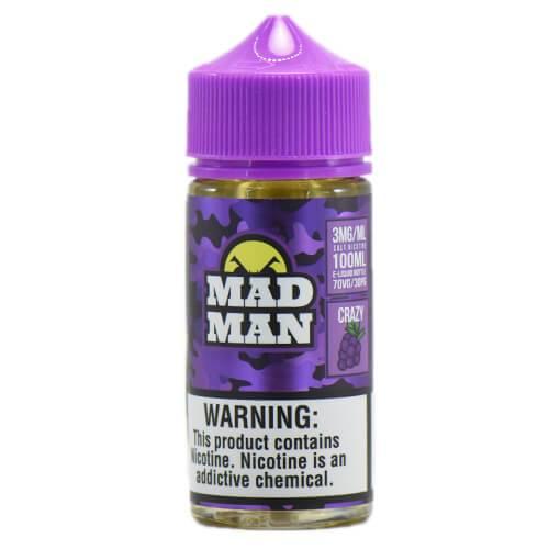 MadMan Liquids - Crazy Grape - 100ml / 6mg