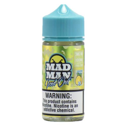 MadMan Liquids ICED OUT - Crazy Lemon ICE - 100ml / 0mg