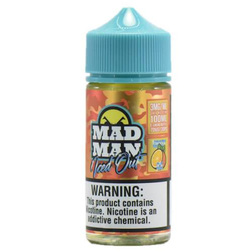 MadMan Liquids ICED OUT - Crazy Orange ICE - 100ml / 3mg