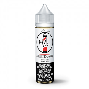 White Label by Maine Vape Co - Shutdown - 60ml / 6mg
