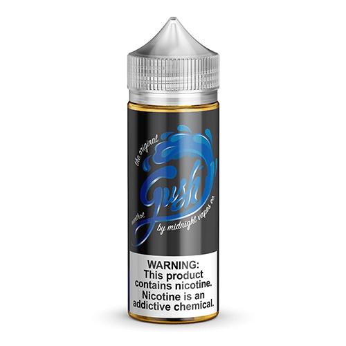 Midnight Vapes Co - Gush Blue - 120ml / 0mg