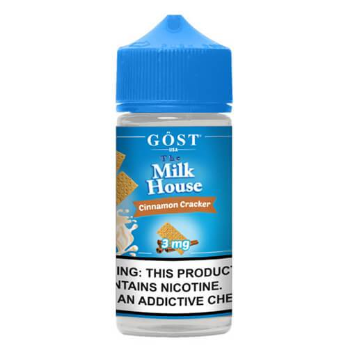 The Milk House by Gost Vapor - Cinnamon Cracker - 100ml / 6mg