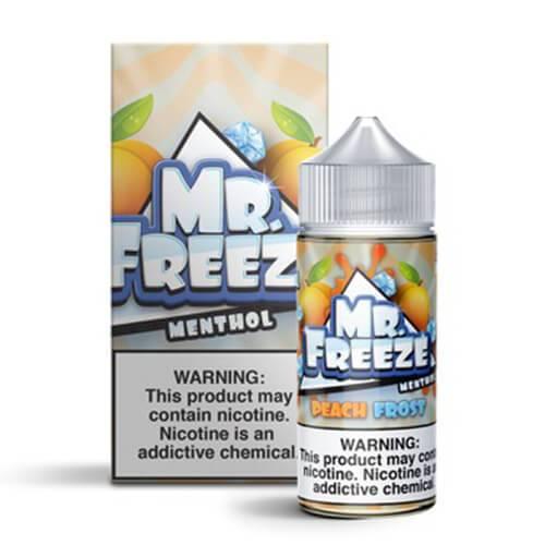 Mr. Freeze eLiquid - Peach Frost - 100ml / 3mg