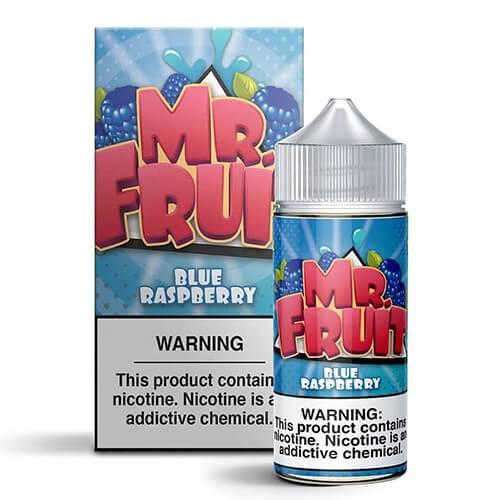 Mr. Fruit eLiquid - Blue Raspberry - 100ml / 3mg