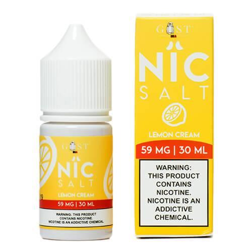 Nic Salt by Gost Vapor - Lemon Cream - 30ml / 59mg