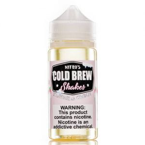 Nitro?ÇÖs Cold Brew Shakes - Strawberi and Cream - 100ml / 0mg