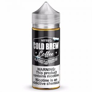 Nitro?ÇÖs Cold Brew - Almond Cappuccino eJuice - 100ml / 0mg