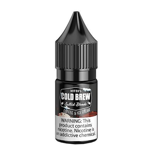 Nitro?ÇÖs Cold Brew Salted Blends - Coffee and Ice Cream - 30ml / 25mg