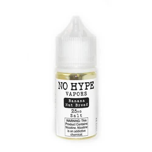 No Hype Vapors SALTS - Banana Nut Bread - 30ml / 50mg