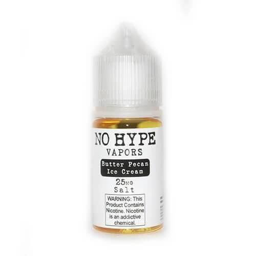 No Hype Vapors SALTS - Butter Pecan Ice-Cream - 30ml / 25mg