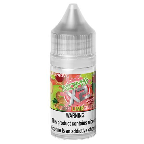 Noms eJuice SALTS - Noms X2 Cherry Lime Ginger - 30ml / 24mg