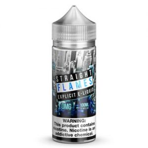 North Shore Vape Distribution - Straight Flames - 100ml / 0mg