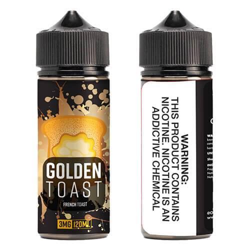 OOO E-Juice - Golden Toast - 120ml / 0mg
