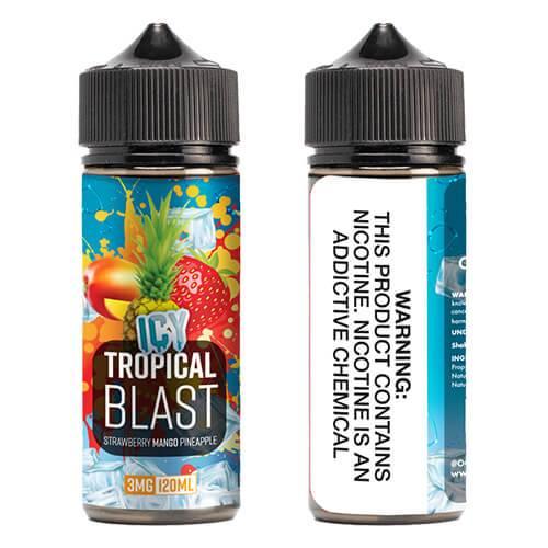 OOO E-Juice ICE - Icy Tropical Blast - 120ml / 0mg