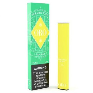 ORO - Disposable Vape Device - Pineapple Soda - Single / 50mg