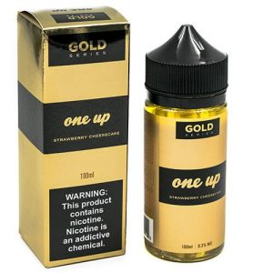 Gold by One Up Vapor - Strawberry Cheese Cake - 100ml / 0mg