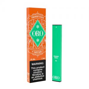 Oro - Disposable Vape Device - Orange Soda - 1.3ml / 50mg