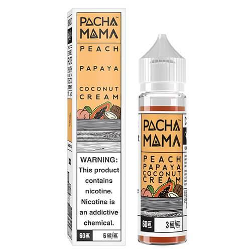 Pachamama E-Liquid - Peach Papaya Coconut Cream - 60ml - 60ml / 0mg