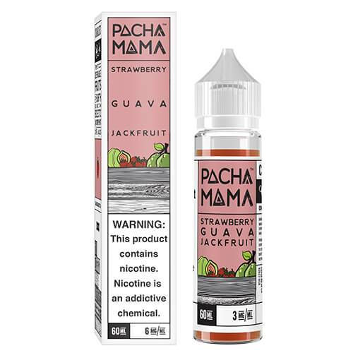 Pachamama E-Liquid - Strawberry Guava Jackfruit - 60ml / 6mg