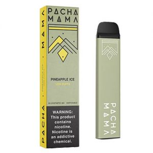 Pachamama Synthetic - Disposable Vape Device - Pineapple Ice - Single / 50mg