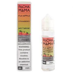 Pachamama E-Liquid - Fuji Apple Strawberry Nectarine - 60ml / 3mg