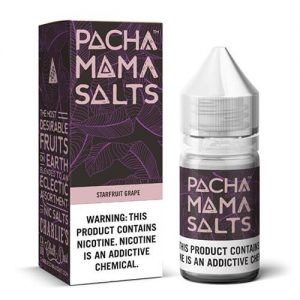 Pachamama E-Liquid Salts - Starfruit Grape - 30ml / 50mg