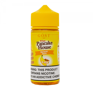 The Pancake House by Gost Vapor - Banana Nuts - 100ml / 6mg