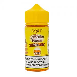 The Pancake House by Gost Vapor - Golden Maple - 100ml / 3mg