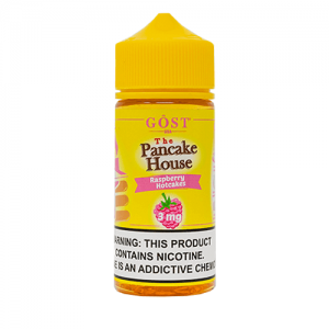 The Pancake House by Gost Vapor - Raspberry Hotcakes - 100ml / 0mg