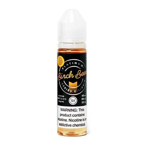 Platinum Series by Simply Vapour - Birch Beer - 60ml / 3mg