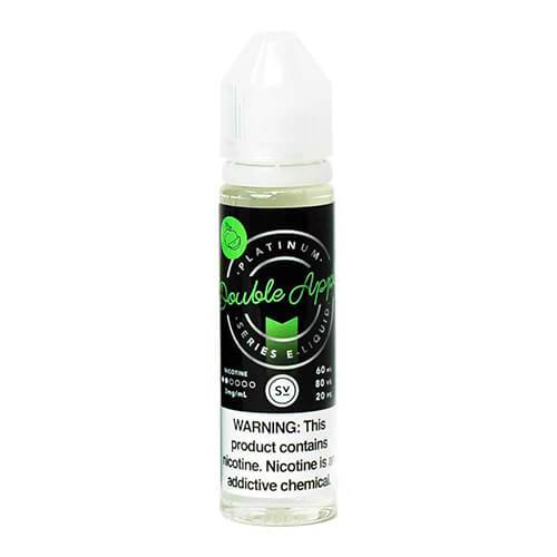 Platinum Series by Simply Vapour - Double Apple - 60ml / 3mg