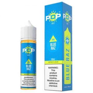 Pop Hit eLiquids - Blue Razz - 60ml / 3mg
