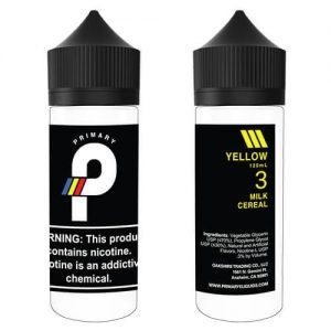 Primary E-Liquids - Yellow - 120ml / 12mg