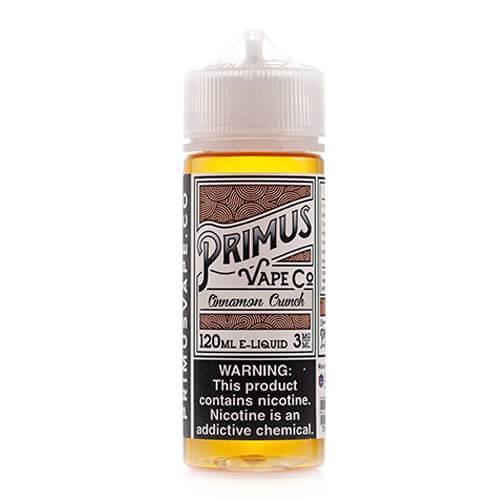 Primus Vape Co - Cinnamon Crunch - 120ml / 3mg
