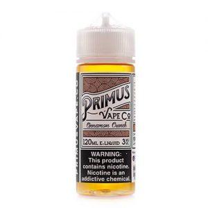 Primus Vape Co - Cinnamon Crunch - 120ml / 0mg