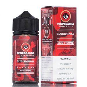 Propaganda E-Liquid - Subliminal - 100ml / 12mg