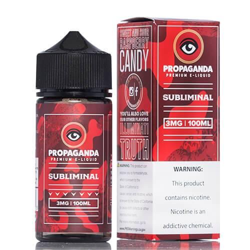 Propaganda E-Liquid - Subliminal - 100ml / 0mg