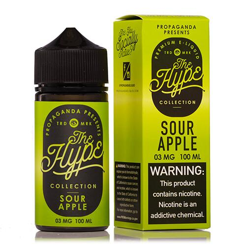 Propaganda E-Liquid The Hype Collection - Sour Apple - 100ml / 3mg