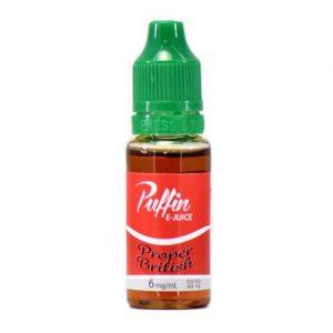 Puffin E-Juice - Proper British - 15ml / 18mg