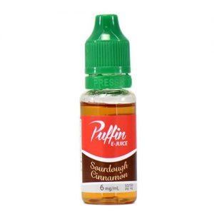Puffin E-Juice - Sourdough Cinnamon - 15ml / 0mg