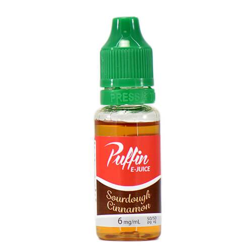 Puffin E-Juice - Sourdough Cinnamon - 15ml / 24mg